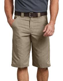 "13"" Regular Fit Shadow Stripe Short - DESERT SAND (DS)"