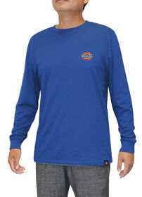 Men's Graphic Long Sleeve Dickies Shirt - ROYAL BLUE (RB)