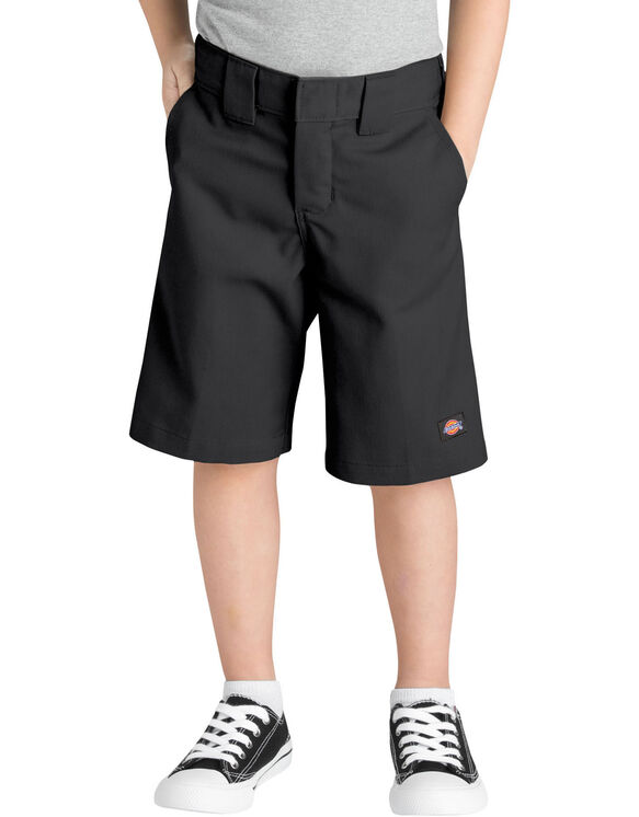 Boys' Relaxed Fit Short with Extra Pocket, 4-7 - BLACK (BK)