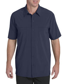 Performance 4-Way Flex Woven Cooling Shirt - INK NAVY (IK)