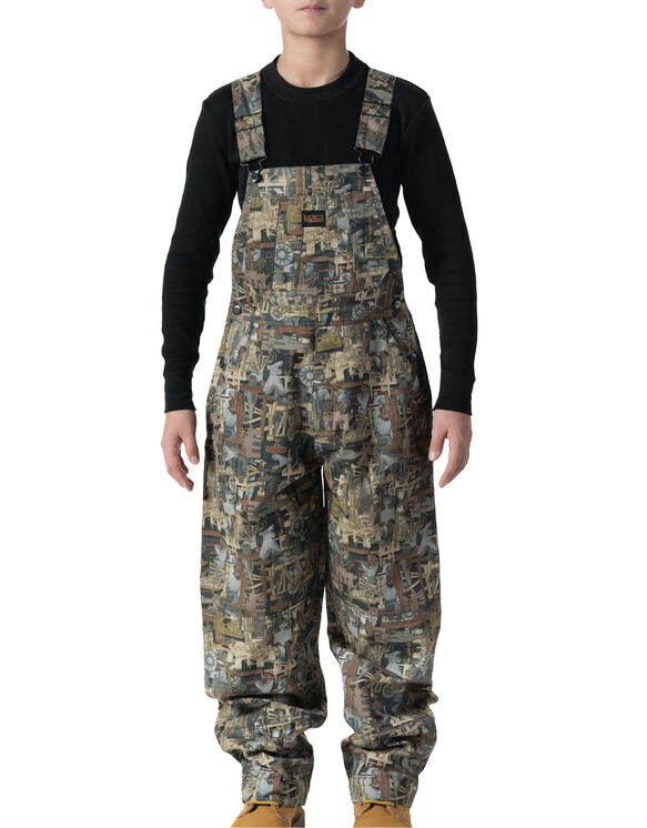 Youth Oilfield Non-Insulated Bib Overall - OIL FIELD (OF9)