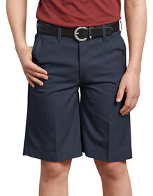 Boys' FlexWaist® Flat Front Short, 4-7 - DARK NAVY (DN)