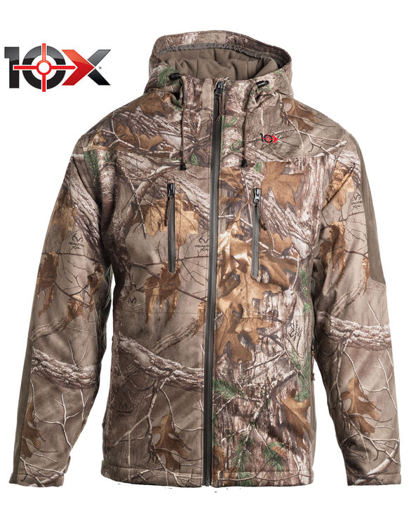 10X® Silent Quest Insulated Parka with Scentrex® - REAL TREE XTRA (AX9)