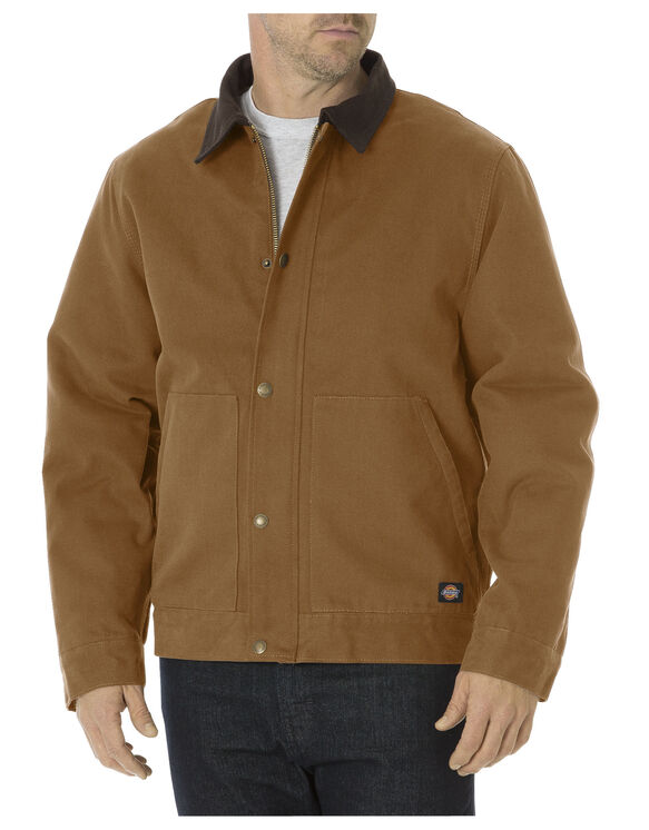 Sanded Duck Sherpa Lined Jacket