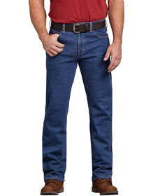 Flex Regular Fit Straight Leg 5-Pocket Denim Jean - FLEX STONEWASHED INDIGO (FSI)