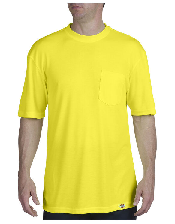 Enhanced Visibility Pocket Tee - ANSI YELLOW (AY)