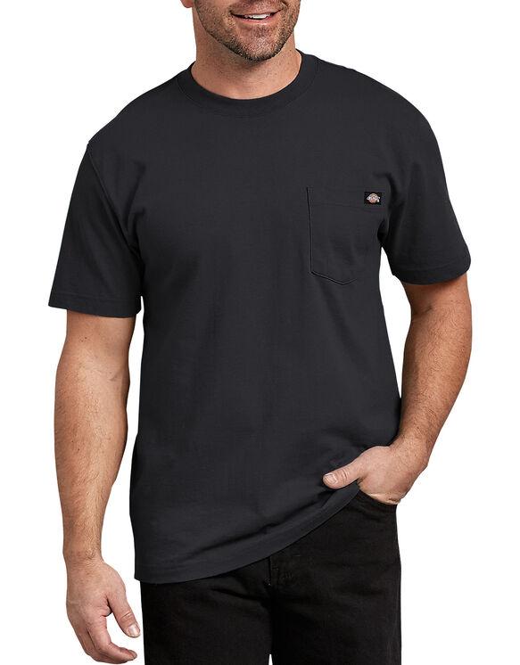T-shirt robuste avec poche à manches courtes - Noir (BK)