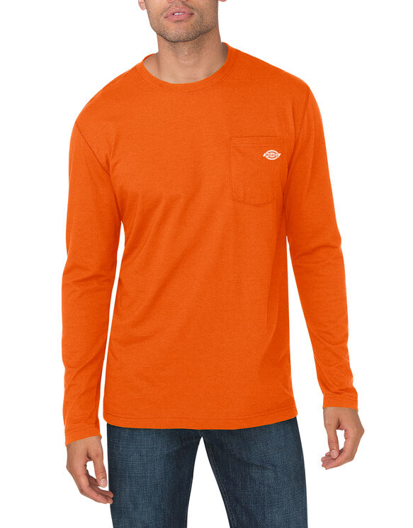 Performance Long Sleeve drirelease® Tee - NEON ORANGE (NA)
