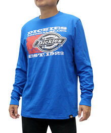Men's Dickies Full Graphic Long Sleeve Shirt - ROYAL BLUE (RB)