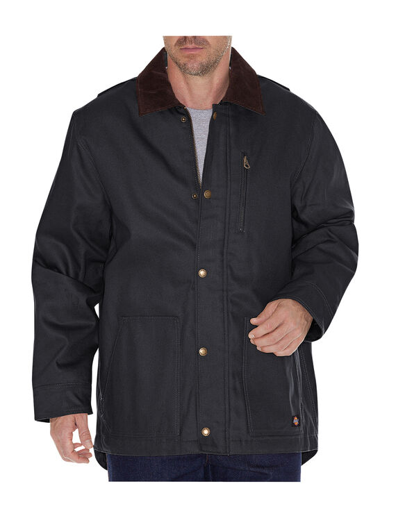 Rigid Duck Chore Coat - BLACK (BK)