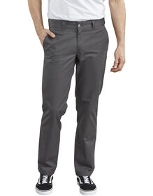 Dickies '67 Slim Fit Straight Leg Industrial Work Pant - CHARCOAL (CH)