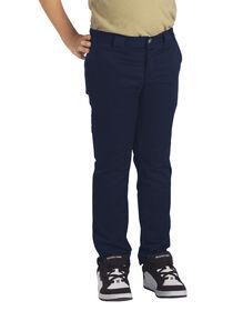 Boys' Flex Skinny Fit Straight Leg Pant, 8-20 - DARK NAVY (DN)
