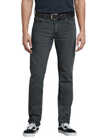 Dickies X-Series Slim Fit Tapered Leg 5-Pocket Denim Jean - HERITAGE GREY DENIM (HGD)