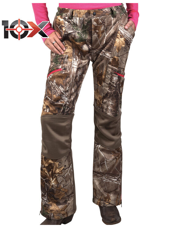 10X® Women's Lockdown Softshell Pant - ALL PURPOSE EXTRA w/FALCON (AXF9)