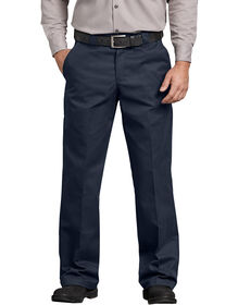 FLEX Relaxed Fit Straight Leg Twill Comfort Waist Pant - DARK NAVY (DN)