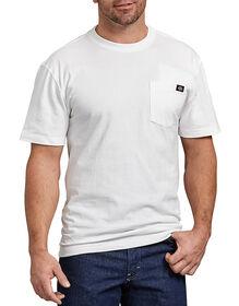 T-shirt robuste avec poche à manches courtes - Blanc (WH)
