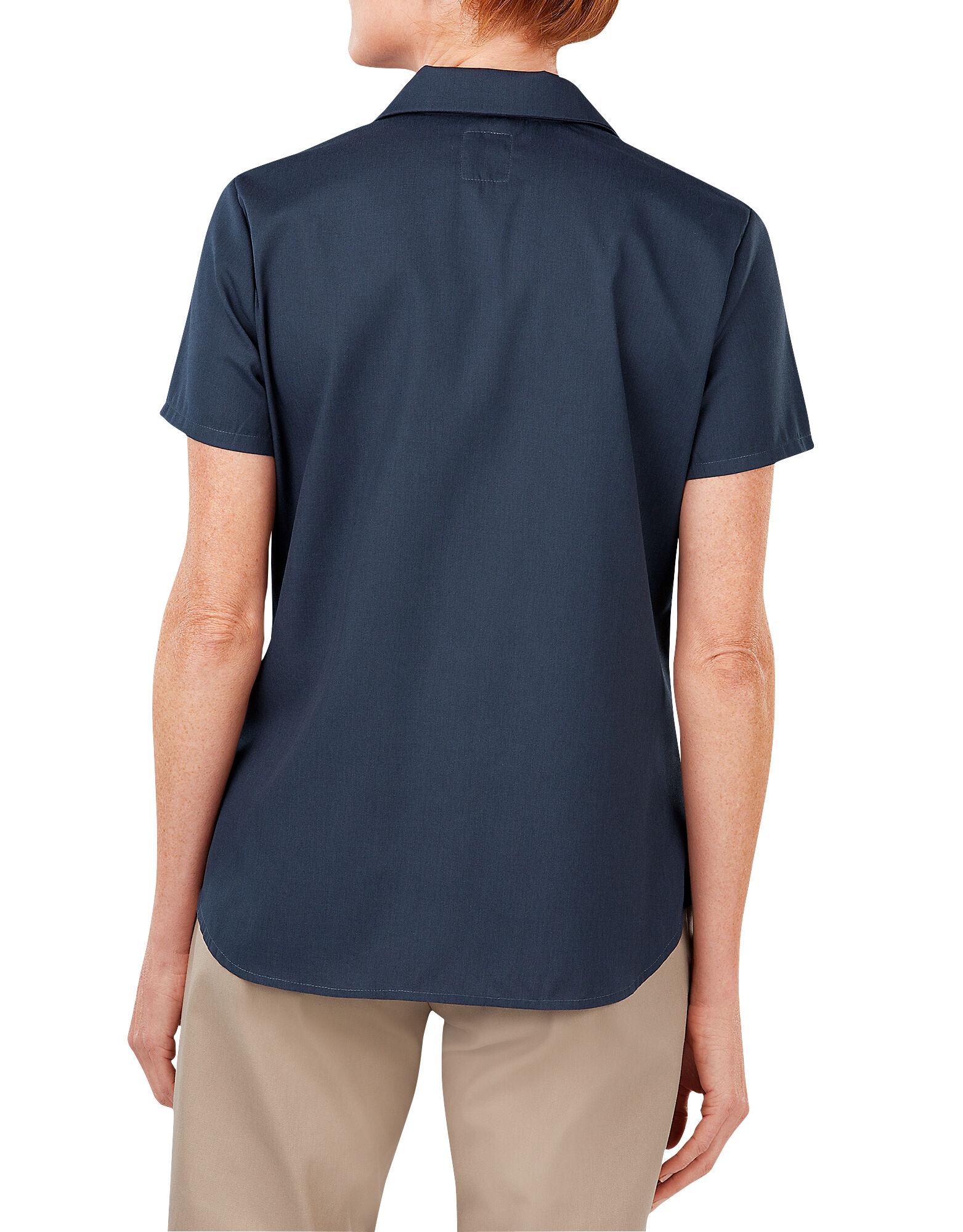 Short Sleeve Industrial Work Shirt Women 39 S Tops Dickies