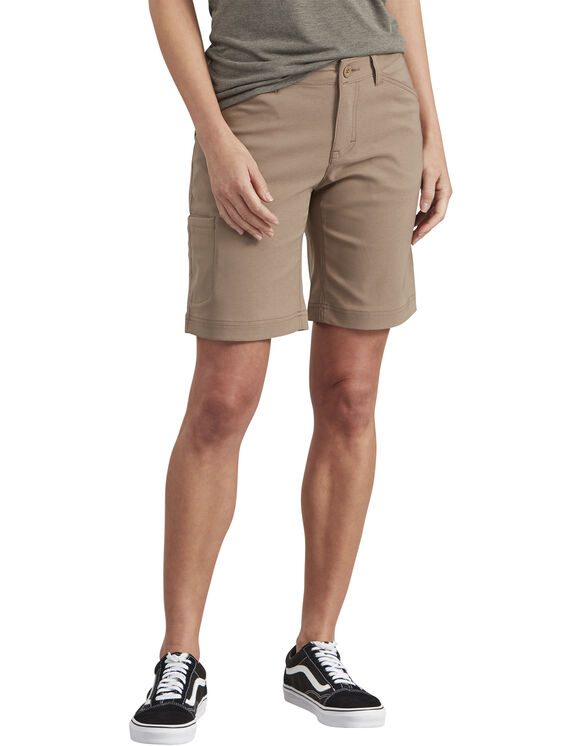 Women's Performance Bi-Stretch Short - PEBBLE BROWN (NP)