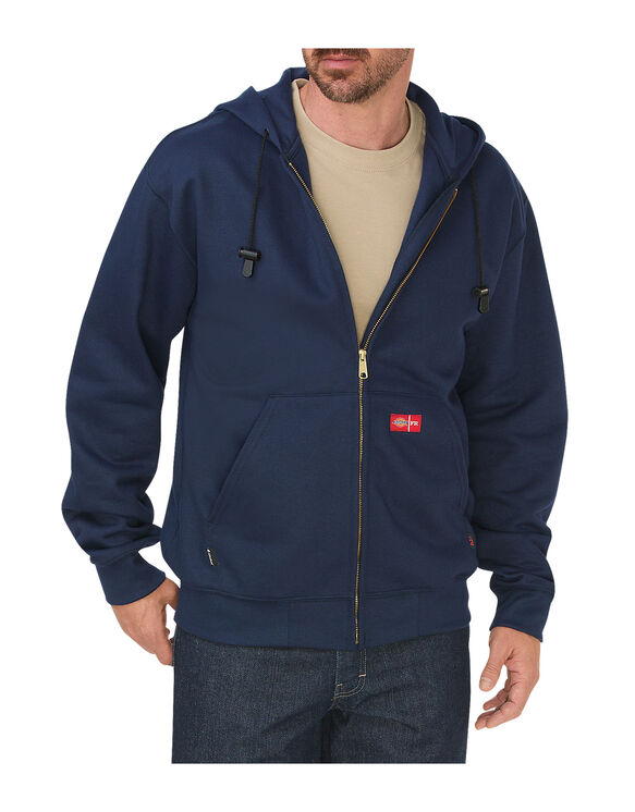 Flame-Resistant Zip Fleece - NAVY (NV)