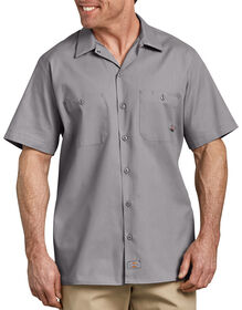 Industrial Short Sleeve Work Shirt - GRAPHITE GRAY (GG)