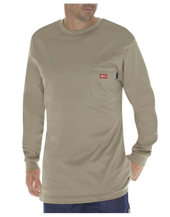 Flame-Resistant Long Sleeve Tee