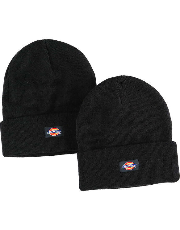 FREE Dickies Two-Pack Knit Caps* - BLACK (BK)