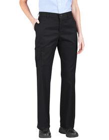 Pantalon cargo de qualité supérieure pour femmes avec poches multiples - Noir (BK)