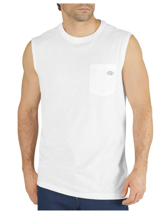 Performance Sleeveless drirelease® Tee - WHITE (WH)