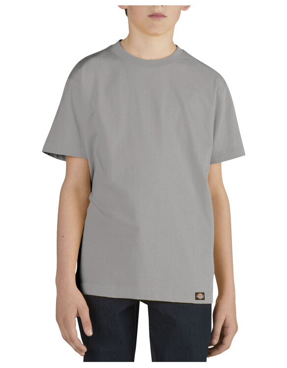 Boys' Short Sleeve Performance Tee, 8-20 - HEATHER GRAY (HG)