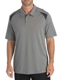 Short Sleeve Performance Polo - SMOKE/ BLACK (SMBK)