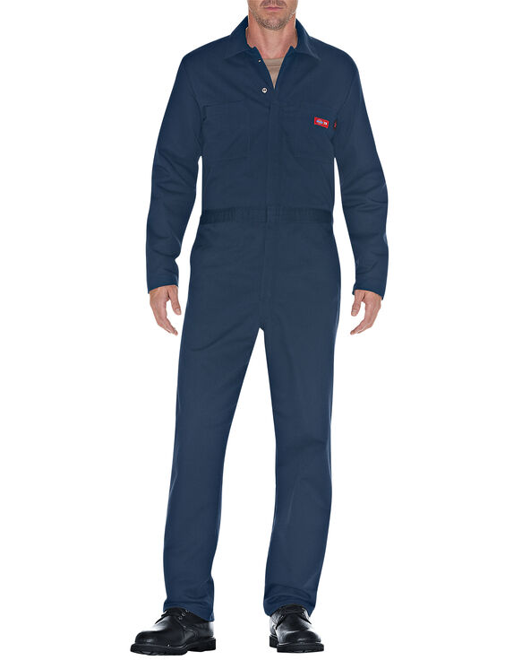 Flame-Resistant Long Sleeve Coverall - NAVY (NV)