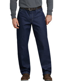 Relaxed Straight Fit Carpenter Denim Jean - INDIGO BLUE (NB)