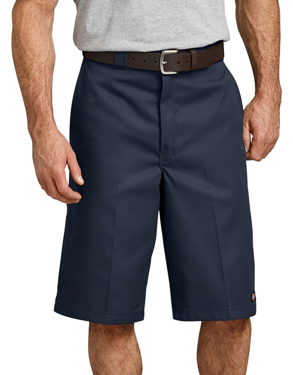 "13"" Loose Fit Multi-Use Pocket Work Short - DARK NAVY (DN)"
