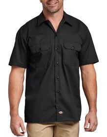 Short Sleeve Work Shirt - BLACK (BK)