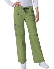 Women's Junior Fit Gen Flex Youtility Cargo Scrub Pant - DESERT SAGE-LICENSEE (DSG)