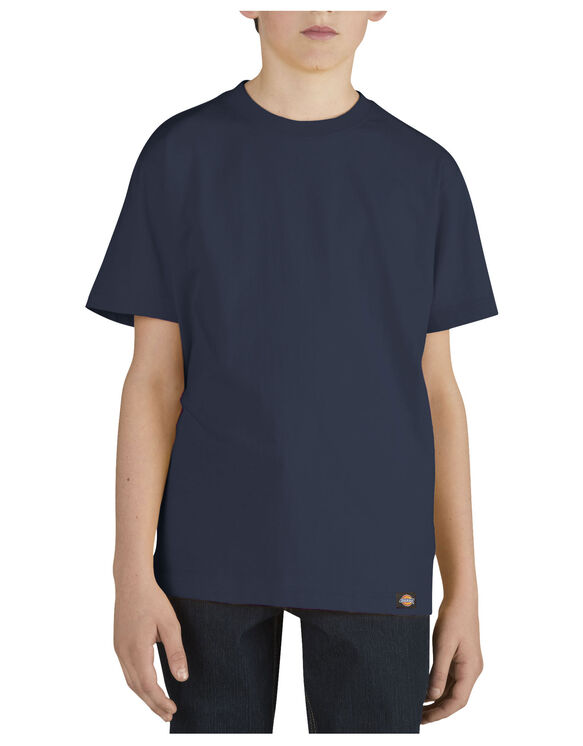 Boys' Short Sleeve Performance Tee, 8-20 - DARK NAVY (DN)