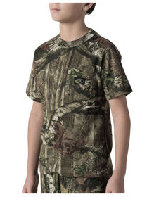 Walls® Youth Hunting Short Sleeve Pocket Tee - BRK UP INFIN (MI9)
