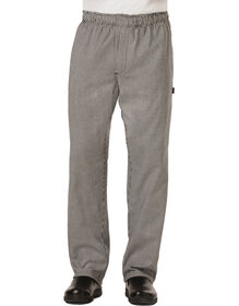 Men's Traditional Baggy Zipper Fly Chef Pant - HOUNDSTOOTH-LICENSEE (HDT)