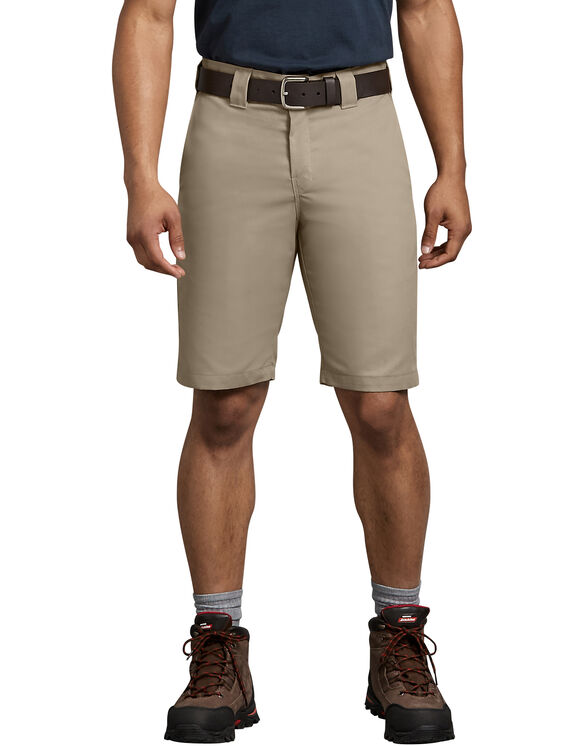 "FLEX 11"" Regular Fit Work Short - DESERT SAND (DS)"