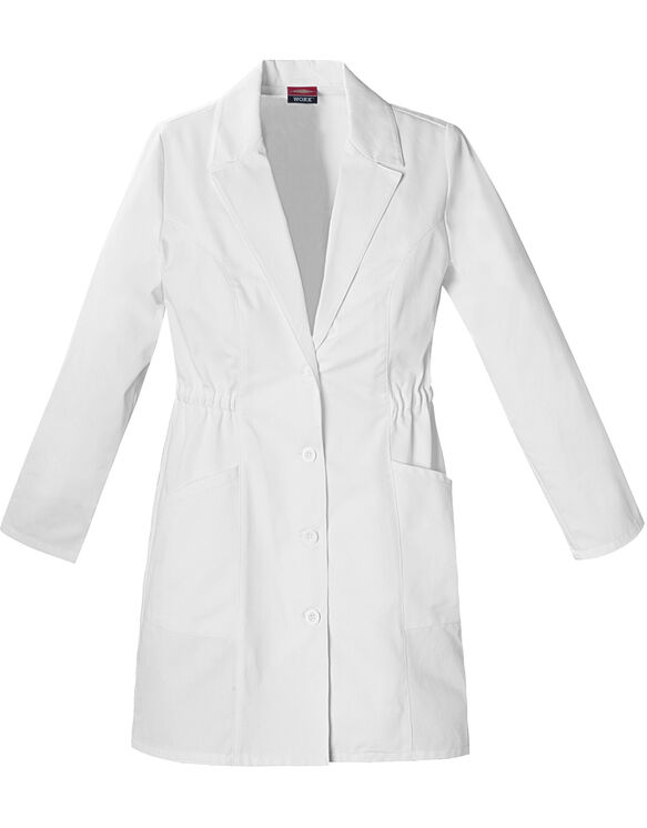 "Women's EDS Signature 34"" Lab Coat - DICKIES WHITE (DWH)"