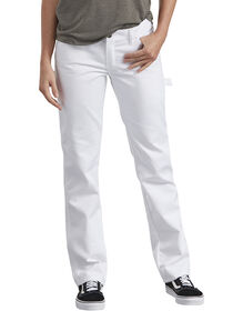 Women's Premium Painter's Utility Pant - WHITE (WH)