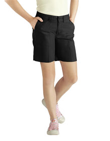 Girls' Classic Short (Half Sizes), 7-20 - BLACK (BK)