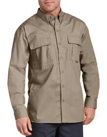 Tactical Ventilated Ripstop Long Sleeve Shirt - DESERT SAND (DS)