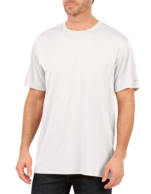 Performance Short Sleeve Cooling Tee - WHITE (WH)