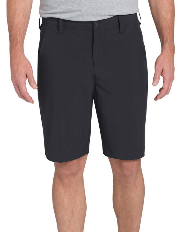"Flex Hybrid Regular Fit 10"" Short - BLACK (BK)"