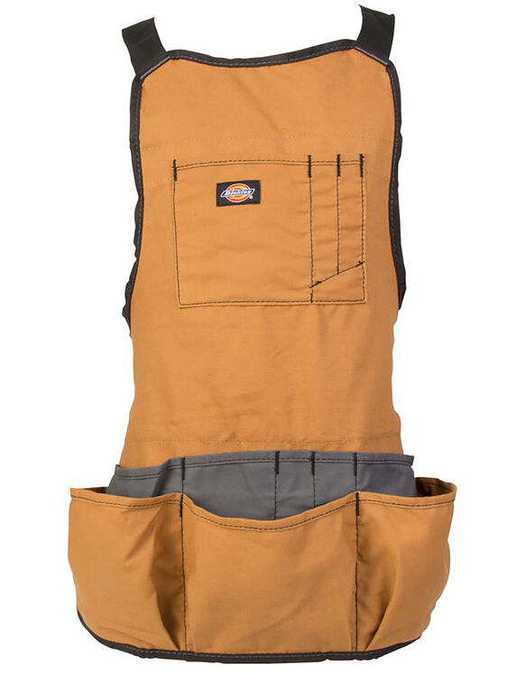 16-Pocket Bib Apron - BROWN DUCK (BD)