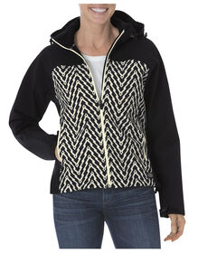 Women's DPS Patterned Softshell Jacket