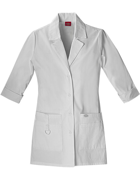 "Women's EDS Signature 30"" Lab Coat - DICKIES WHITE (DWH)"