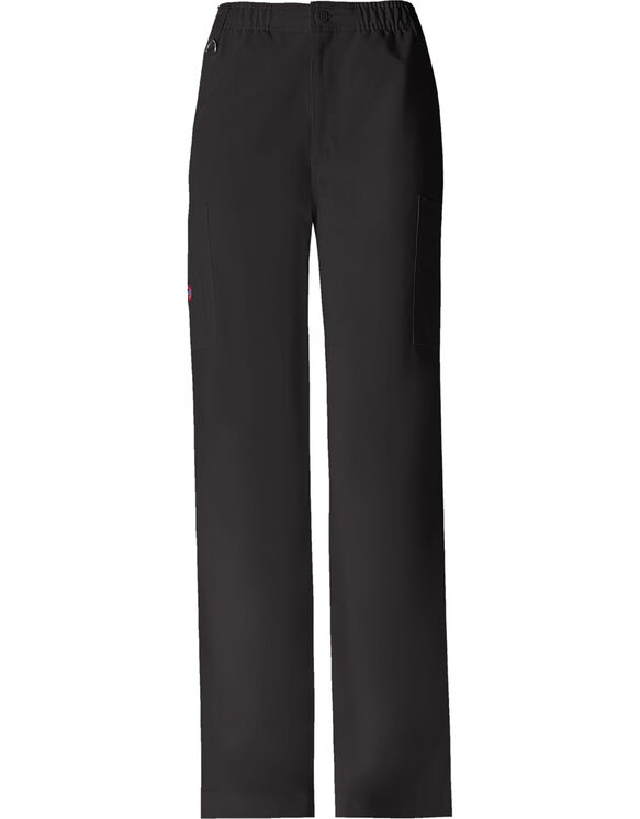Men's  Xtreme Stretch Zip Fly Pull-On Pant - BLACK (BLK)