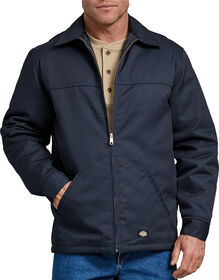 Hip Length Twill Jacket - DARK NAVY (DN)